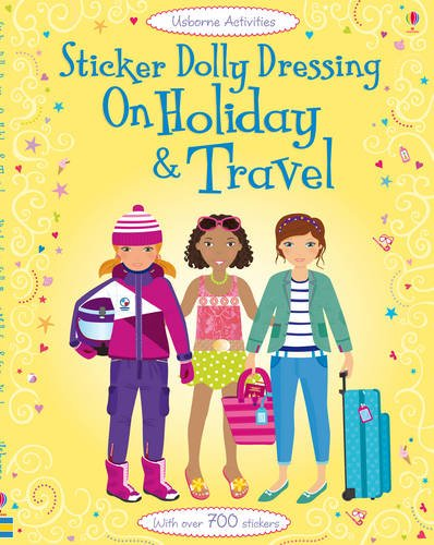 Sticker Dolly Dressing Holiday & Travel