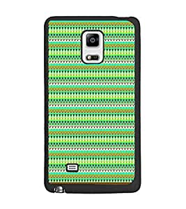 PrintDhaba Tribal Pattern D-1720 Back Case Cover for SAMSUNG GALAXY NOTE 4 (Multi-Coloured)