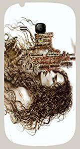 Great multicolor printed protective REBEL mobile back cover for S3 Mini / Samsung I8190 Galaxy S III mini D.No.N-R-2996-S3M