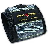 MagnoGrip Magnetic Wristband Platinum