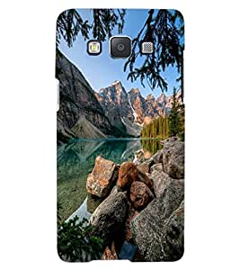 ColourCraft Beautiful Scenery Design Back Case Cover for SAMSUNG GALAXY A8