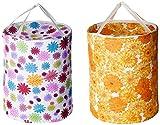 Miamour 2 Piece Cotton Laundry Bag, 20 Litres