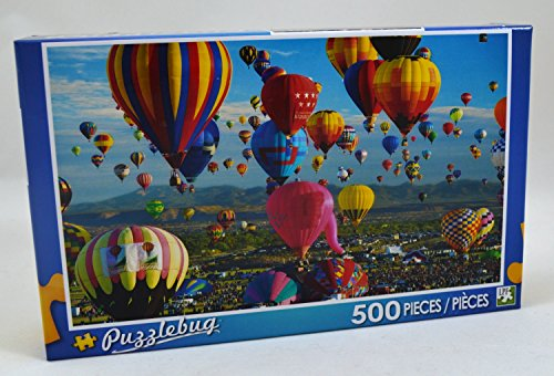 Puzzlebug 500 Piece Puzzle ~ Albuquerque Hot Air Balloon Festival - 1