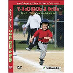 Baseball Coaching: T-Ball Skills & Drills