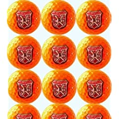 Caddyshack Inspired Bushwood Country Club Logo Wilson Fifty Elite Orange Golf Balls... by arcollectibles