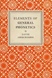 Elements of General Phonetics (0852244517) by Abercrombie, David