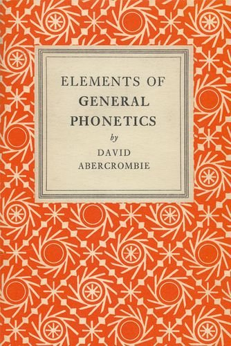 Elements of General Phonetics