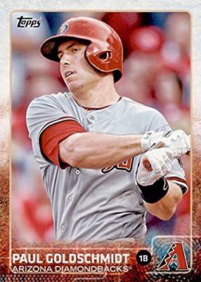 Arizona Diamondbacks 2015 Topps MLB Baseball Regular Issue Complete Mint 26 Card Team Set with Paul Goldschmidt, Mark Trumbo Plus