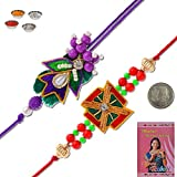 Little India Ethnic Style Traditional Jaipuri Designer Rakhi Gift 305