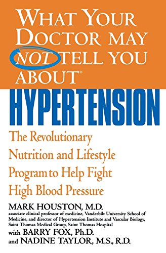 What Your Dr...Hypertension (What Your Doctor May Not Tell You About...(Paperback))