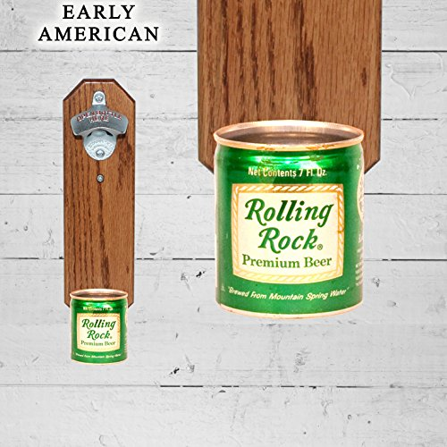 wall-mounted-bottle-opener-with-vintage-rolling-rock-9oz-beer-can-cap-catcher