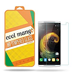Cool Mango Tempered Glass Screen Protector & Shield for Lenovo K4 Note / Lenovo Vibe K4 Note with Installation Kit and Instruction Manual - HD clarity + Best scratch and shatter protection + Highest touch screen accuracy + Oil and water repellent coating + Laser cut round edges + 9H hardness + . 3 mm thickness + 2. 5 d curved