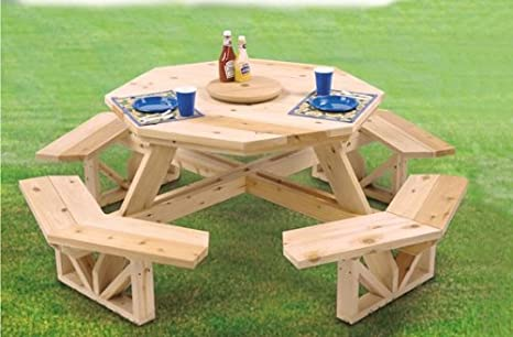 Swing set kits and plans woodworkers supply madison for Octagon coffee table plans