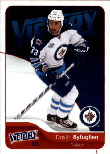 2011 Upper Deck Victory Hockey Card (2011-12) #277 Dustin Byfuglien Near Mint/Mint