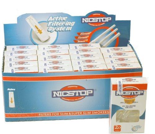 nicstop-slim-super-slim-cigarette-filters-20-packs-400-filters
