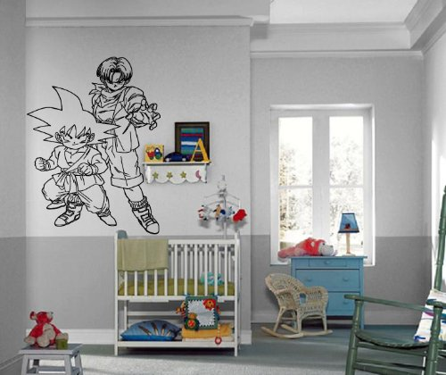 Anime Bedroom Ideas Bedroom Wall Decor Crafts Bedroom Design Of Pop Black And White Bedroom Design Inspiration: Dragonball Posters: Cartoon Dragonball Z Action Manga