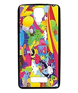 Techno Gadgets Back Cover for Panasonic Eluga Icon