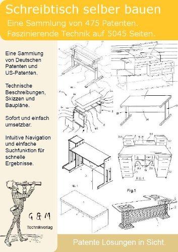 schreibtisch selber bauen 475 patente zeigen wie com. Black Bedroom Furniture Sets. Home Design Ideas