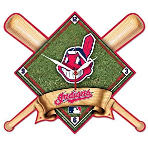 MLB Cleveland Indians High Definition Clock by WinCraft