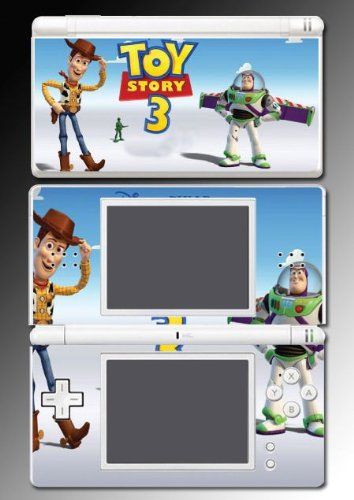 Toy Story 3 Buzz 2 Woody Game Vinyl Decal Cover Skin Protector #1 for Nintendo DS Lite