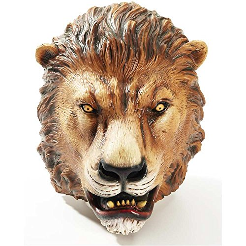 Lion Deluxe Latex Adult Mask - One Size