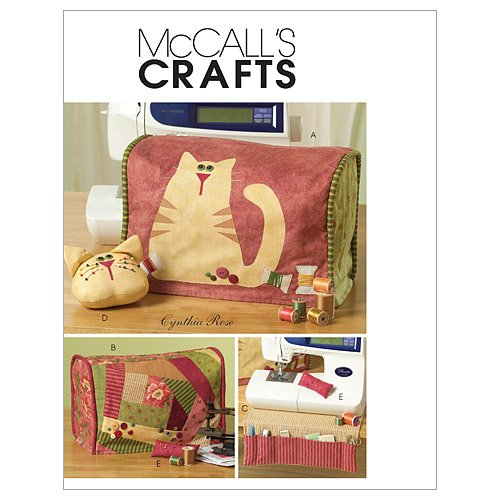 McCall's Patterns M5017 Sewing Machine Cover and Accessories, One Size Only (Paper Sewing Machine compare prices)