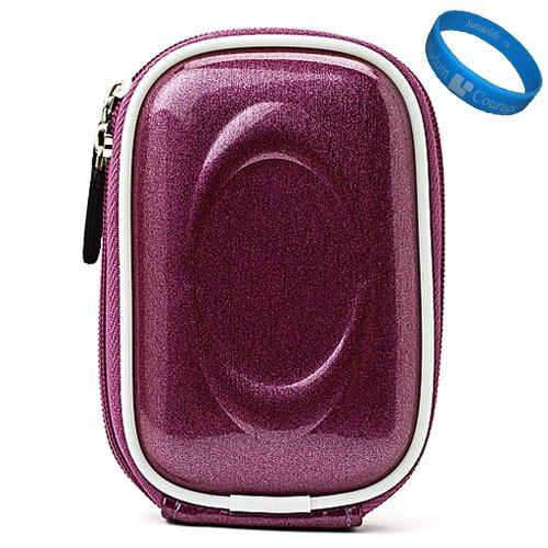 Purple Candy VG Compact Semi Hard Protective Camera Case for Samsung DV300F / MV800 / ST93 / ST90 / ST65 / ST30 / ST95 / ST700 / PL170 / PL210 / PL120 / SH100 / WB700 / PL200 / TL350 / WB2000 / AQ100 / WP10 / TL210 / PL150 / TL205 / PL100 / ST80 / ST100 /