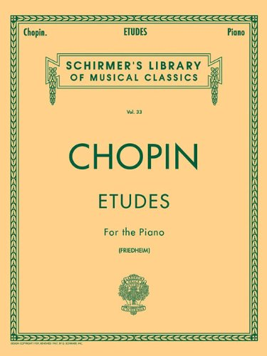 Etudes (Friedheim) (Schirmer's Library of Musical Classics)