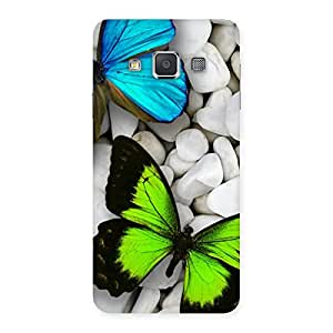 Voila Colorfull Butterflies Back Case Cover for Galaxy A3