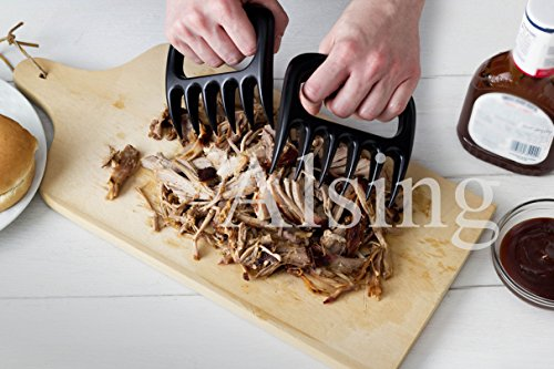 Alsing® Meat Claws, Meat Handler Forks, Meat Claws For Bbq, Pork, Chicken, Or Beef: Heat Resistant For Easy Shredding And Handling!