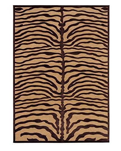 Serengeti Rug, Cream/Dark Brown, 7' 6 x 10' 6