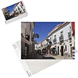 Photo Jigsaw Puzzle of Street in the Old Town of Lagos, Algarve, Portugal, Europe from Robert Harding