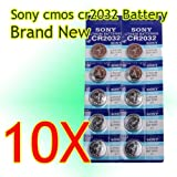 Big Bargain NEW 10 CR2032 3V LITHIUM BUTTON CELL BATTERY FOR SONY