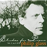 Philip Glass : Etudes For Piano, Vol.1, No.1-10