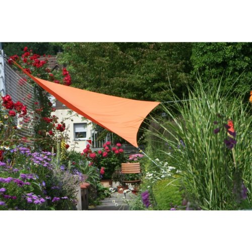 Floracord 06-77-07-39 - Vela de sombra para patio, naranja