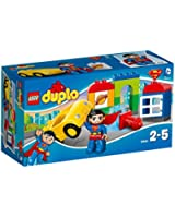 Lego Duplo Super Héros - Licence - 10543 - Jeu De Construction - Le Sauvetage De Superman