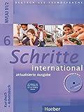 img - for Schritte International: Kursbuch Und Arbeitsbuch 6 MIT CD Zum Arbeitsbuch (German Edition) book / textbook / text book