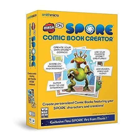 Spore Comic Book Creator (Mac/PC CD)