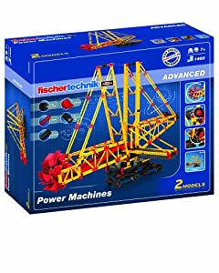 Fischertechnik Advanced Power Machines Kit, 1400-Piece