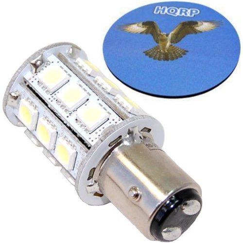 Hqrp Bay15D 24Led Smd5050 Cool White Light Bulb For Hella Bulbs 8Ga 003 488-121 / 8Ga 003 488-301 / 8Ga 003 488-131 / 8Ga 003 488-311 Replacement Plus Hqrp Coaster