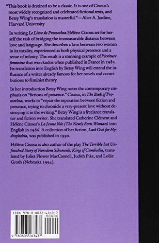 The Book of Promethea (European Women Writers)