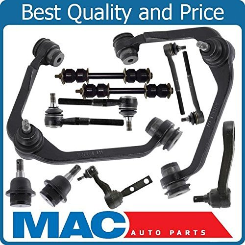 Mac Auto Parts 145463 Front Suspension Kit Ball Joints Arms Ford F150 F250 Expedition 2WD 12 Piece Kit (Ford Auto Parts compare prices)