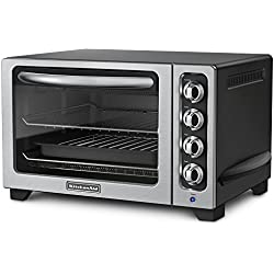KitchenAid KCO222OB Electric Countertop Oven - Onyx Black