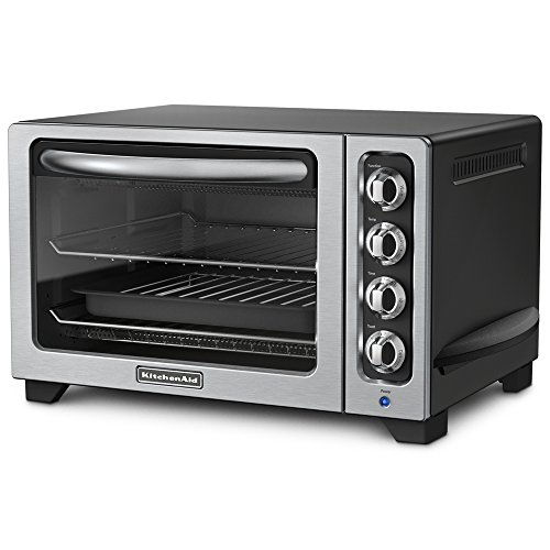 KitchenAid KCO222OB Countertop Oven, Onyx Black [Discontinued] (Kitchenaid Toaster Ovens compare prices)