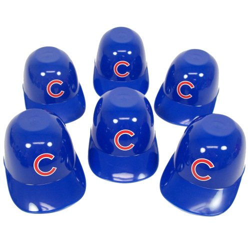 CHICAGO CUBS MINI BATTING HELMET ICE CREAM SNACK BOWLS at Amazon.com