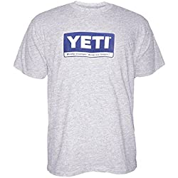 Yeti Billboard Short Sleeve Shirt Gray Large