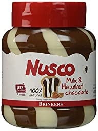 Nusco Hazelnut Duo Chocolate Spread 400gr (14oz)