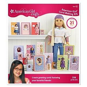 American girl crafts card making kit for American girl craft kit