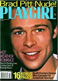 Playgirl Magazine, issue dated  August 1997 BRAD PITT NUDE!!! Issue, very rare---- removed from the stands!