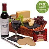 Wine & Cheese Hamper - Hampers and Gift Baskets - Free UK Express Delivery